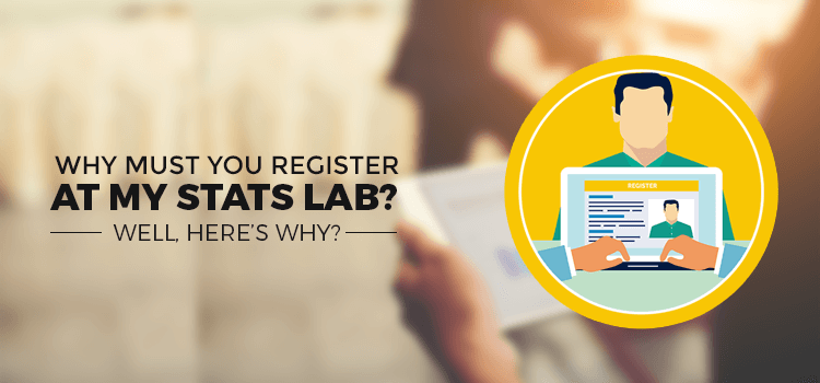 Why must you register at My Stats Lab? Well, here's why?