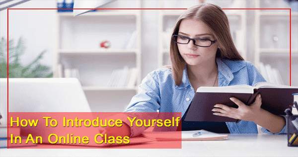 How to introduce yourself in an online class