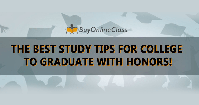 THE BEST STUDY TIPS FOR COLLEGE TO GRADUATE WITH HONORS!