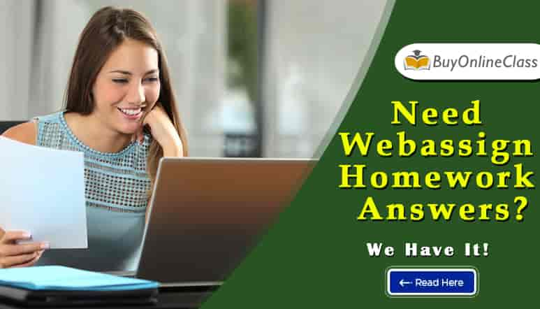 Need Webassign Homework Answers? We Have It!