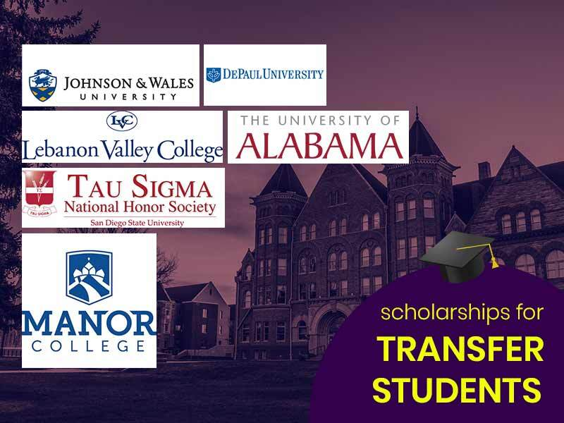 Which Colleges offer full scholarships for transfer students?